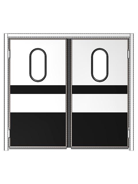 Маятниковые двери REFDOORS