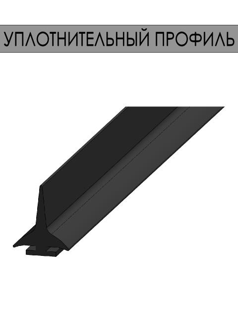 Маятниковые двери REFDOORS - уплотнительный профиль