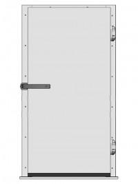 Одностворчатые распашные двери для холодильных и морозильных камер