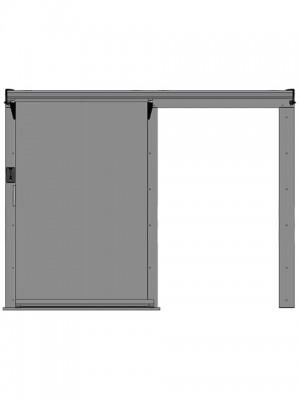 Откатные двери для холодильных камер